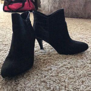 Express high heel booties